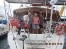 Alex, Gonzalo, Maggie and Martin: Today Papeete, tomorrow Moorea and the rest of the passage